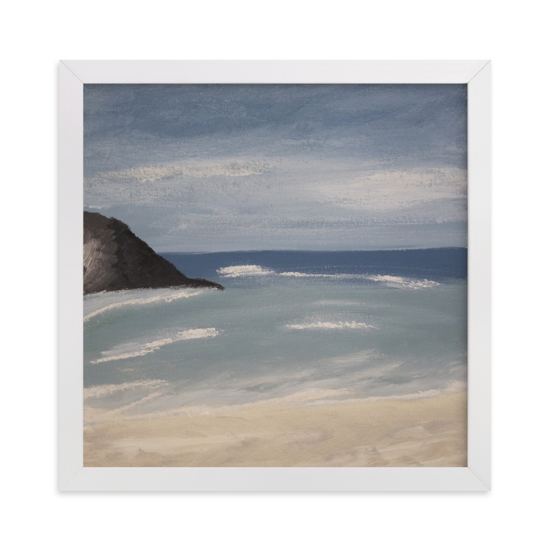 """""""Bermuda Summer"""" - Art Print by Colleen Ehrlich in beautiful frame options and a variety of sizes."""