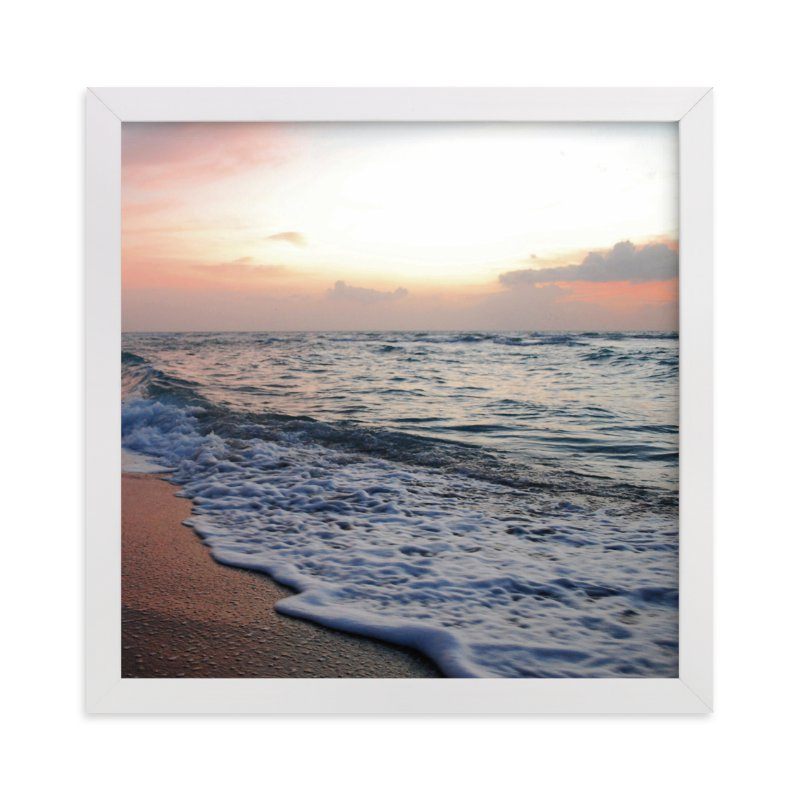 """""""Coastal Wave"""" - Art Print by Kate Ross in beautiful frame options and a variety of sizes."""