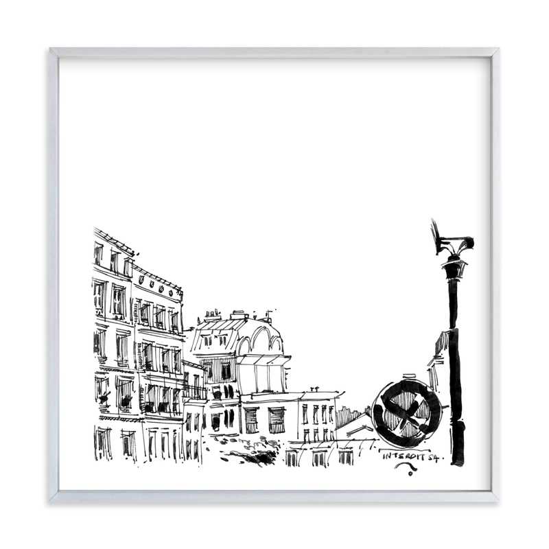 """Paris 4"" - Art Print by IMG_101 in beautiful frame options and a variety of sizes."