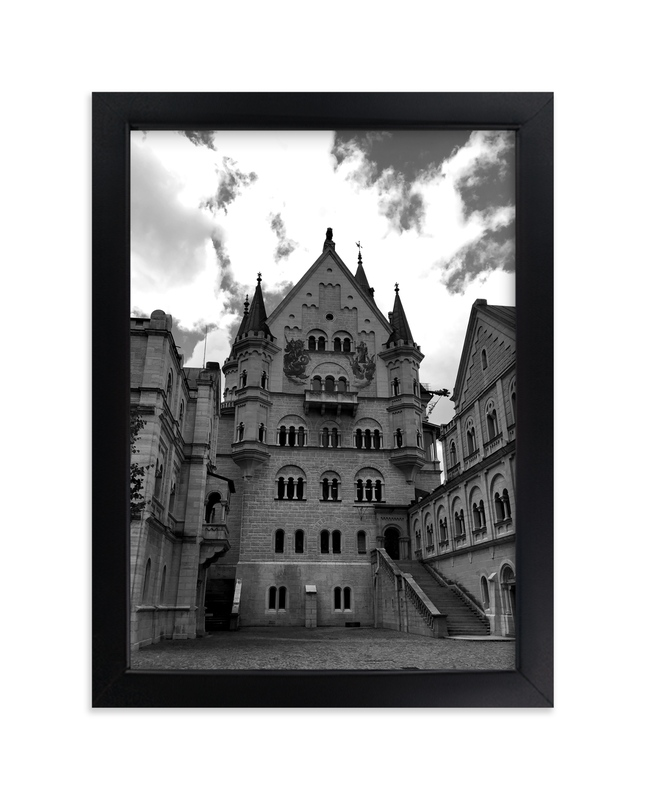 """""""Castle of Germany"""" - Art Print by Hannah Graham in beautiful frame options and a variety of sizes."""