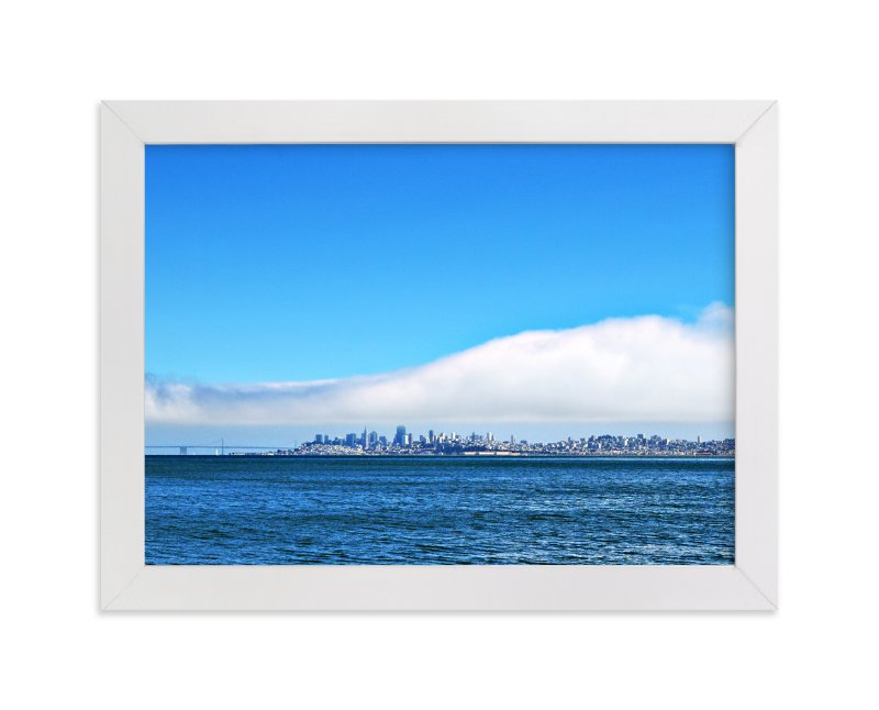 """View of San Francisco"" - Art Print by NSMARK in beautiful frame options and a variety of sizes."