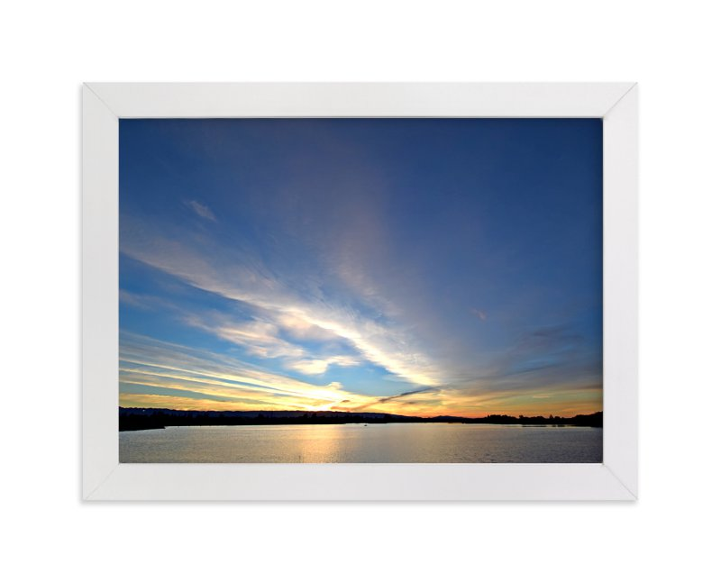 """""""Sunset 101"""" - Art Print by NSMARK in beautiful frame options and a variety of sizes."""