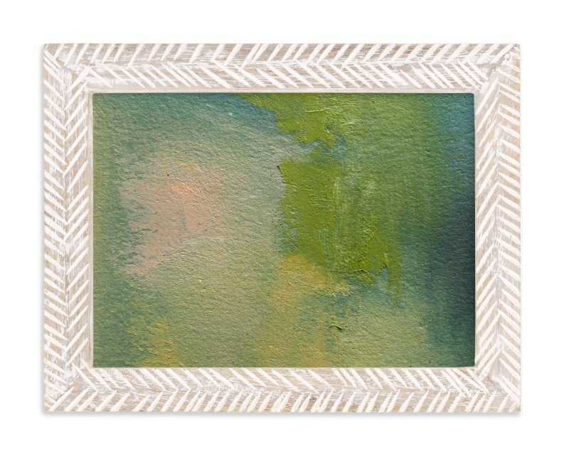 """""""Sap Sky and Earth"""" - Art Print by Lynne Millar in beautiful frame options and a variety of sizes."""