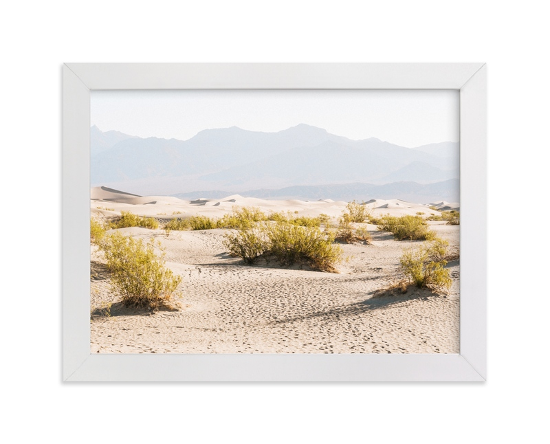 """Desert Footsteps"" - Art Print by Anna Western in beautiful frame options and a variety of sizes."