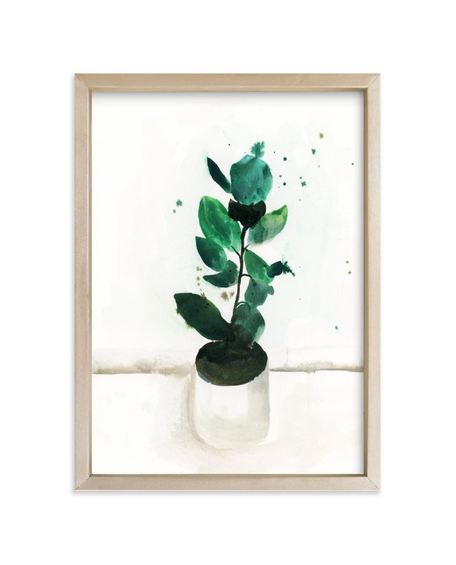 """""""Fig"""" - Art Print by Lindsay Megahed in beautiful frame options and a variety of sizes."""