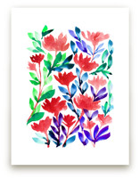hand painted flowers_3F by aticnomar