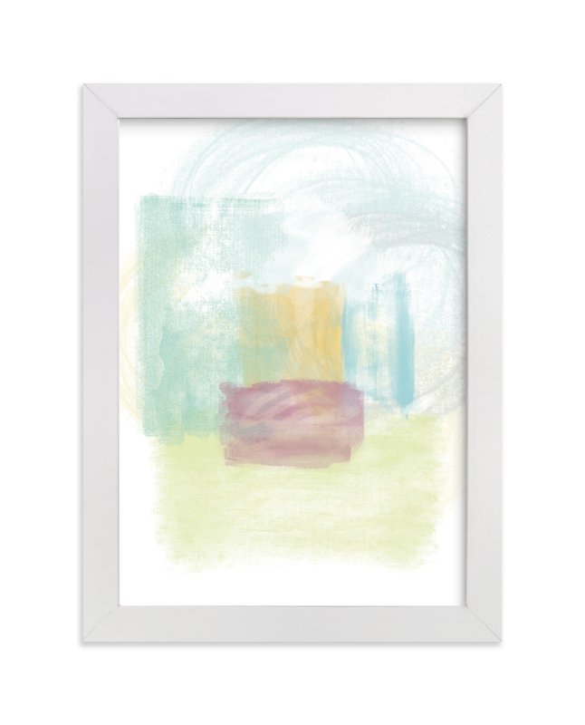 """""""bryant park"""" - Art Print by shoshin studio in beautiful frame options and a variety of sizes."""