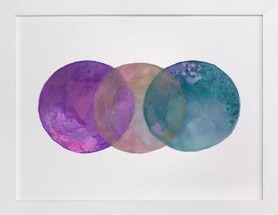 Worlds Collide 2  Art Print