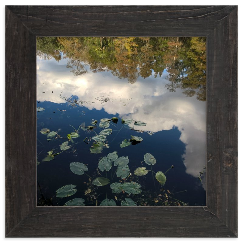 """River Reflections"" - Art Print by Skoodler Designs in beautiful frame options and a variety of sizes."