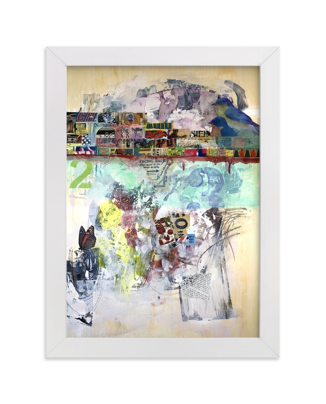 """Troubour"" - Art Print by Misty Hughes in beautiful frame options and a variety of sizes."