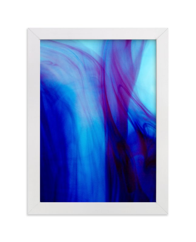 """Purple Dreams"" - Art Print by Alexis Arnold in beautiful frame options and a variety of sizes."