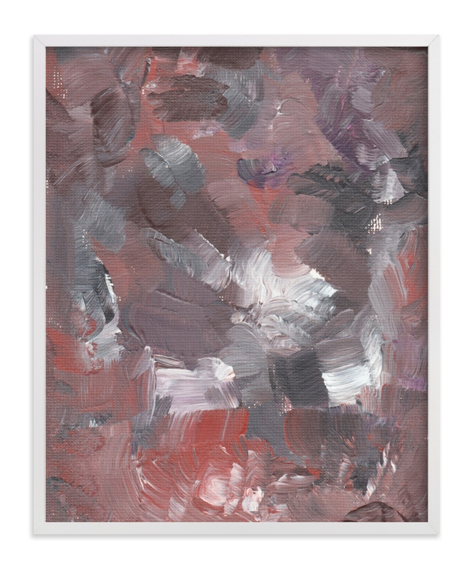 """Abstract Painting2"" - Art Print by aticnomar in beautiful frame options and a variety of sizes."