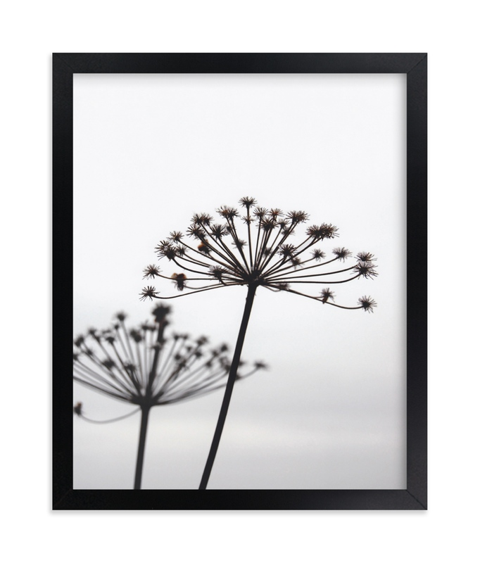 """""""Just Us"""" - Art Print by LemonBirch Design in beautiful frame options and a variety of sizes."""