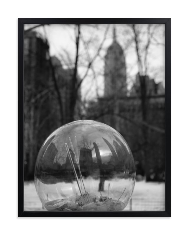 """City Sphere"" - Art Print by Mark Kirby in beautiful frame options and a variety of sizes."