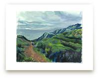 Malibu Hike by Carol Dysart