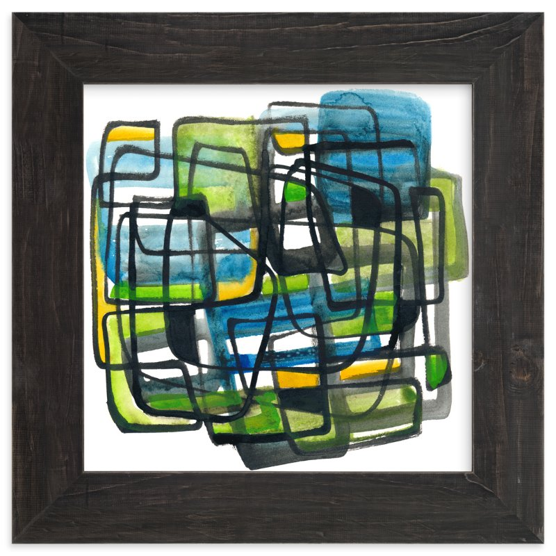 """Monday"" - Art Print by Kim Johnson in beautiful frame options and a variety of sizes."