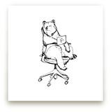 Sayl Chair Bear by Flume Design