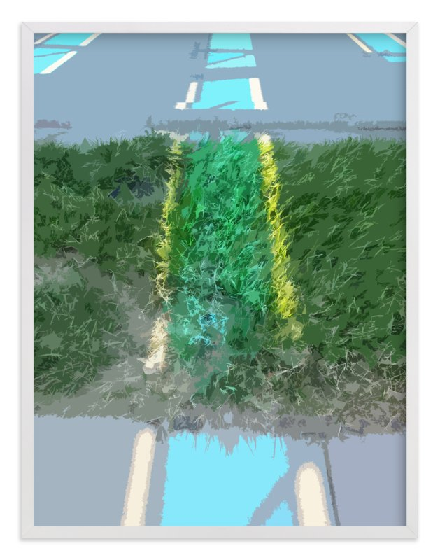 """""""Solar Parking 1"""" - Art Print by Jeff Preuss in beautiful frame options and a variety of sizes."""