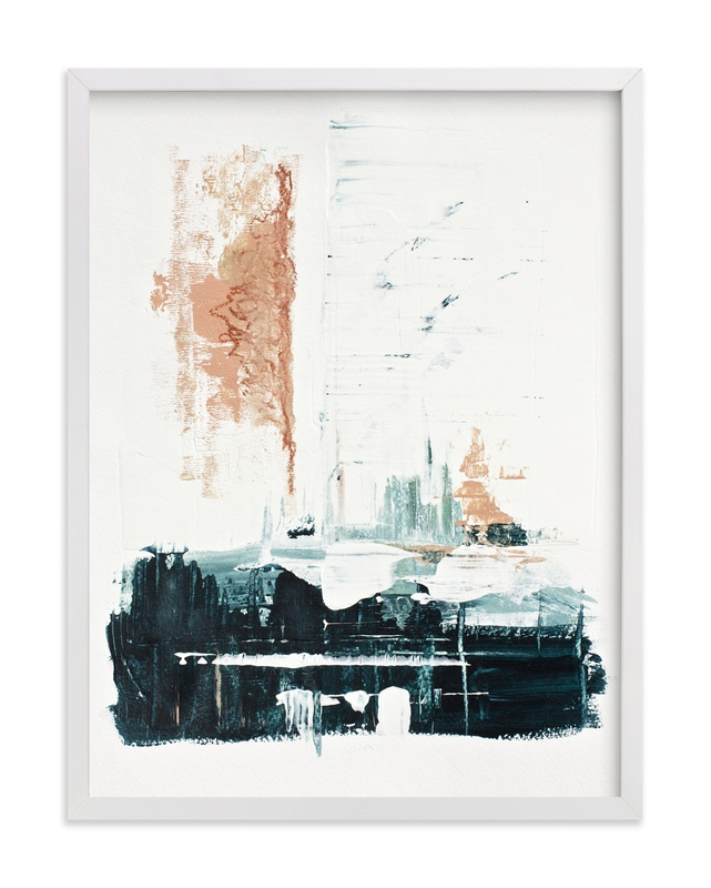 """""""Harbor's Edge"""" - Art Print by Karen Kaul in beautiful frame options and a variety of sizes."""