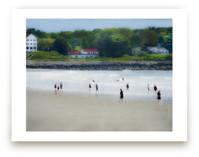 August Beach Scene Capture