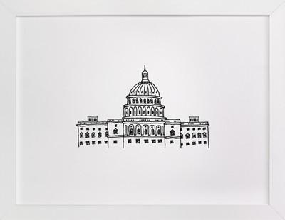 Around the World Washington D.C.  Art Print