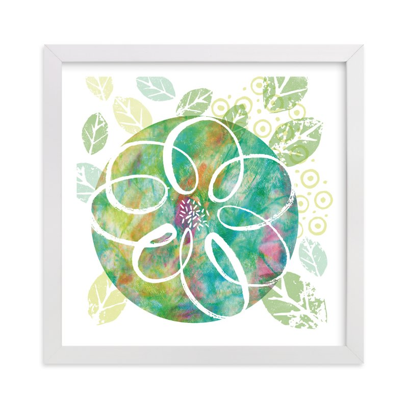 """""""Botanical Collage"""" - Art Print by Laura Bolter Design in beautiful frame options and a variety of sizes."""