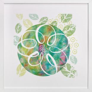 Botanical Collage Art Print