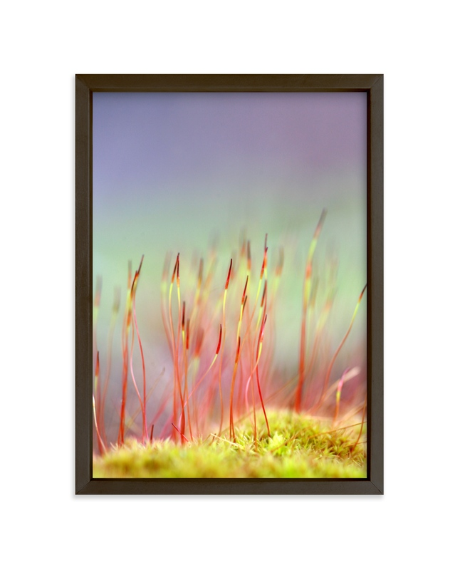 """Sporophyte"" - Art Print by Lynn Lehto in beautiful frame options and a variety of sizes."