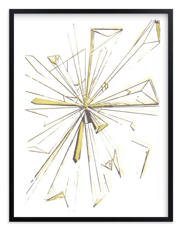 """""""Starburst Series 3"""" - Art Print by Angela Simeone in beautiful frame options and a variety of sizes."""
