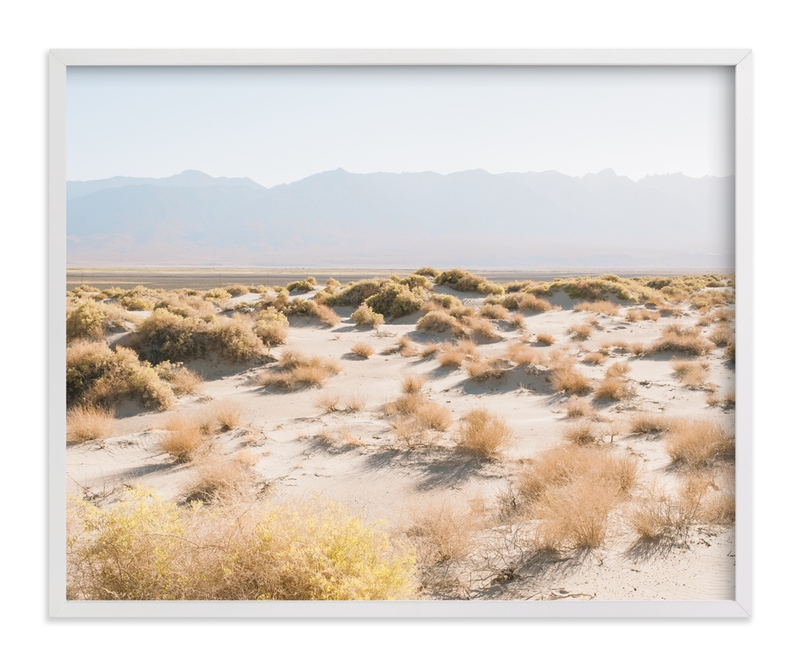 """Desert Tundra"" - Art Print by Anna Western in beautiful frame options and a variety of sizes."