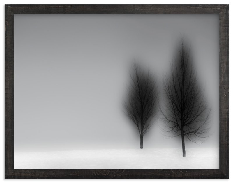 """""""a foggy NIGHT"""" - Art Print by Gail Schechter in beautiful frame options and a variety of sizes."""