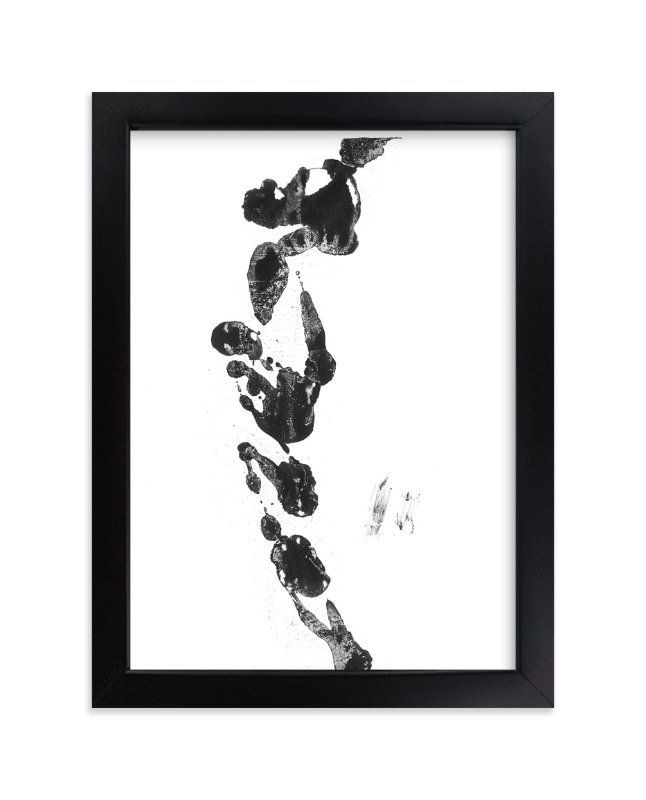 """""""Black Blaze"""" - Art Print by Misty Hughes in beautiful frame options and a variety of sizes."""