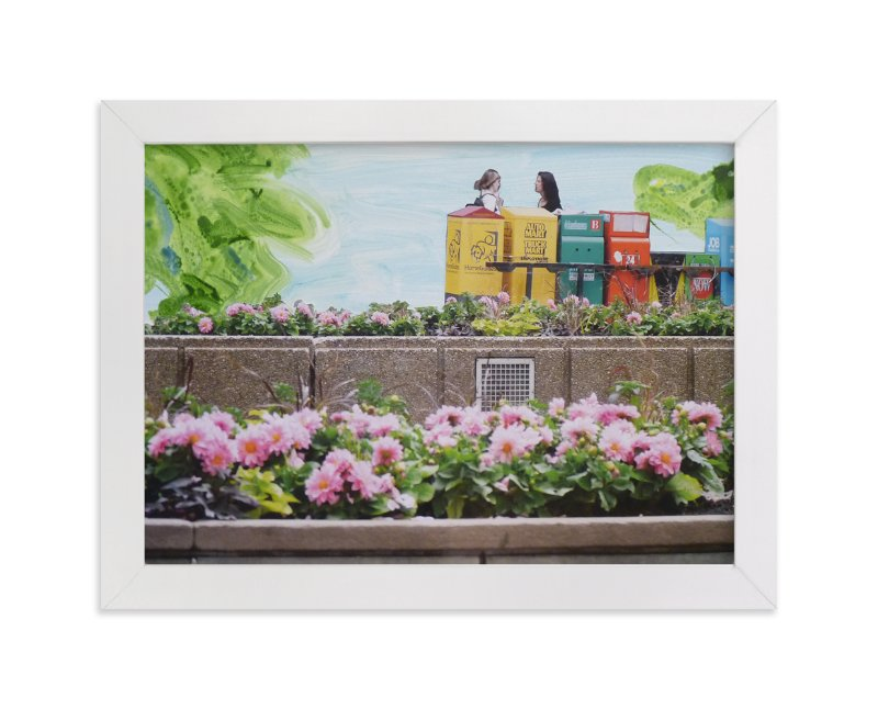 """""""Toronto Newspaper Boxes"""" - Art Print by Annie Seaton in beautiful frame options and a variety of sizes."""