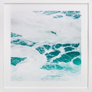 Cerulean Swell III  Art Print