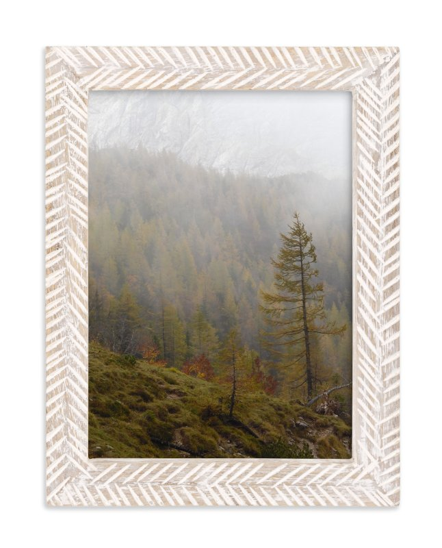 """""""Alpine Autumn"""" - Art Print by Courtney Crane in beautiful frame options and a variety of sizes."""