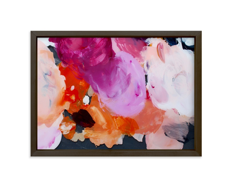 """""""Poppy Palette"""" - Art Print by Katie Craig in beautiful frame options and a variety of sizes."""