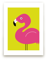 The Pink Flamingo  by Mayel