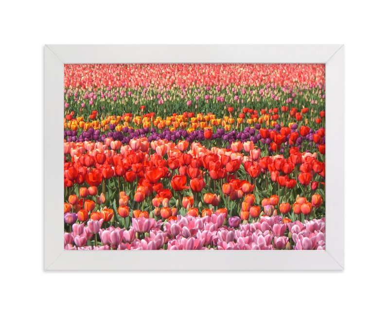 """""""Tulip Power"""" - Art Print by Jan Kessel in beautiful frame options and a variety of sizes."""