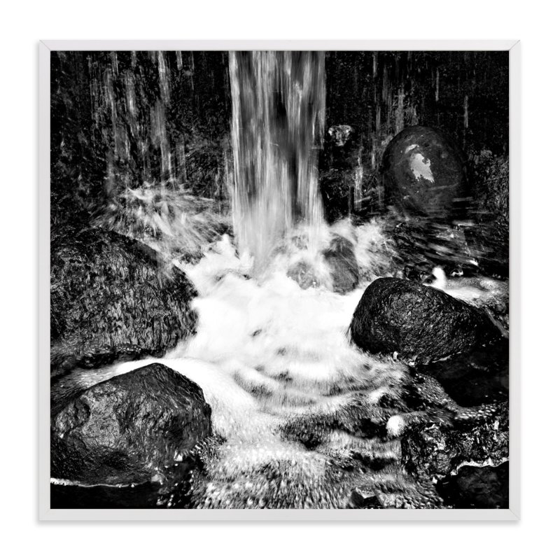 """""""Water and stones"""" - Art Print by NSMARK in beautiful frame options and a variety of sizes."""