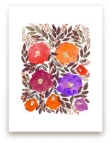 hand painted flowers_5a by aticnomar