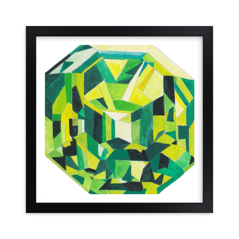 """""""Peridot"""" - Art Print by Paper Monkey Press in beautiful frame options and a variety of sizes."""