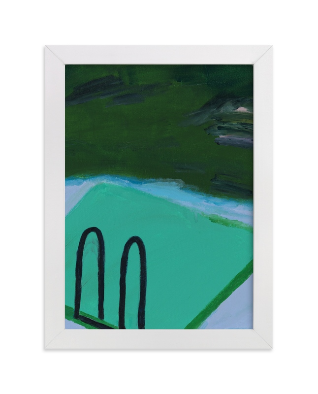 """""""Lake Life"""" - Art Print by Lauren Packard in beautiful frame options and a variety of sizes."""