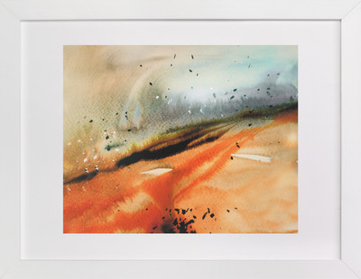 Landsplashes Series : Fields  Art Print