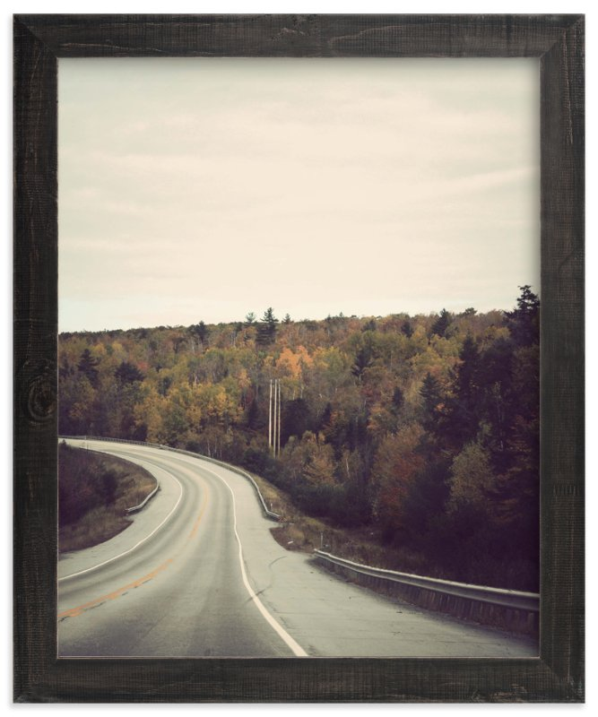 """""""The Road Home"""" - Art Print by Gray Star Design in beautiful frame options and a variety of sizes."""