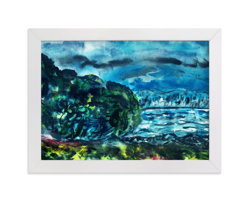 """""""Into the Mystic"""" - Art Print by Stuart Heir in beautiful frame options and a variety of sizes."""