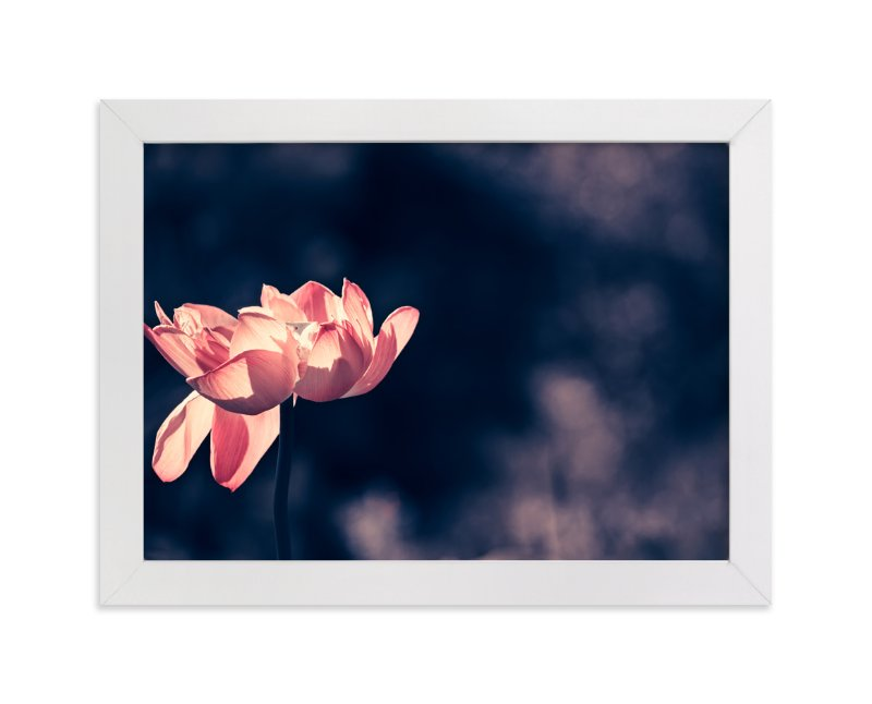 """Lotus No.2 - Standing Elegantly"" - Art Print by Qing Ji in beautiful frame options and a variety of sizes."