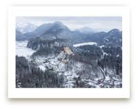 Snowy Village in Bavaria