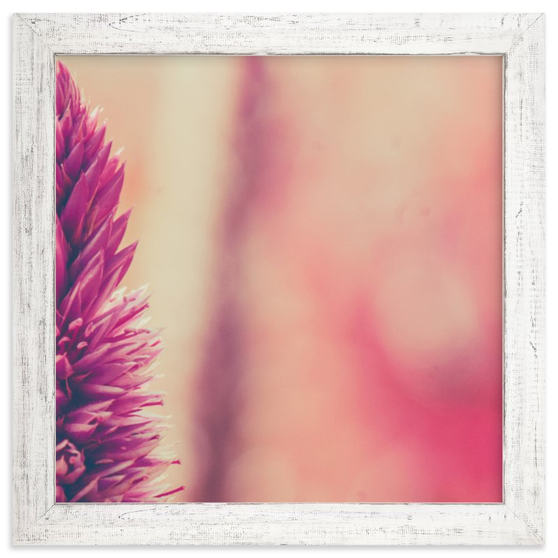 """Fuchsia Study 4"" - Art Print by Smile Peace Love in beautiful frame options and a variety of sizes."