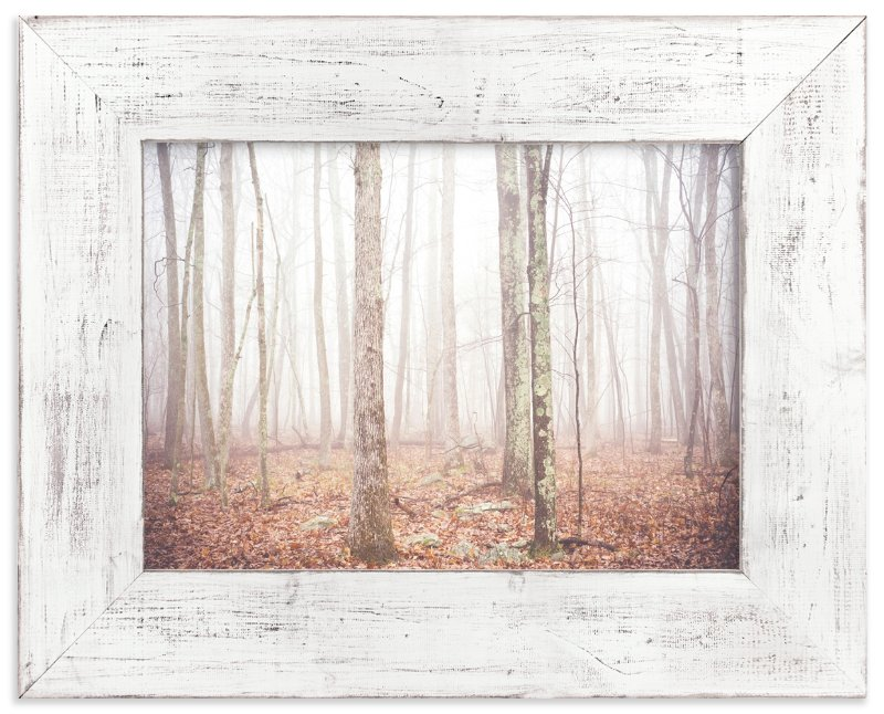 """""""Foggy Forest"""" - Art Print by Smile Peace Love in beautiful frame options and a variety of sizes."""