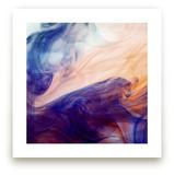 Blue into Orange by Alexis Arnold